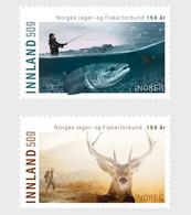 Norwegen Norway  MNH ** 2021  Norwegian Association For Anglers And Hunters 150th Anniversary - Ongebruikt