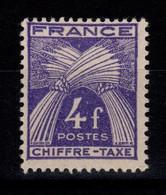 Taxe Gerbe YV 74 N** Cote 7 Euros - 1859-1955 Nuovi