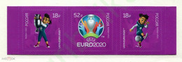 Russia 2021 Football EURO 2000  Streep  MNH - Nuevos