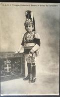 Famiglia Reale Italiana.....S.A.R.  Il Principe Umberto Di Savoia In Divisa Di Corazziere - Familles Royales