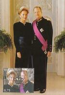 NB - [14157]TB//-CMAX 3356, 2005, MB - Belgique - 175 Ans De La Belgique, Le Couple Royal Entouré De Ses Prédécesseurs - Case Reali