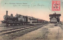 CPA Woosung - Railway Station - China