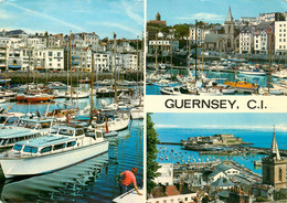 CPSM Guernsey-Multivues-Beau Timbre     L697 - Guernsey