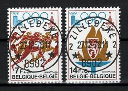 BELGIE: COB 1915/1916  Mooi Gestempeld. - Usados