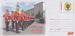 A8453- 155 YEARS OF HISTORY, 30th GUARD REGIMENT 'MIHAI VITEAZUL' ROMANIA COVER STATIONERY POSTAGE - Entiers Postaux