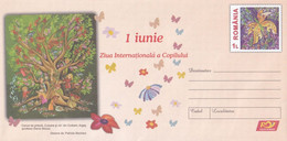 A8456- JUNE 1 INTERNATIONAL CHILDREN'S DAY, ROMANIAN COVER STATIONERY POSTAGE - Entiers Postaux