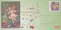 A8460- THE INTERNATIONAL CHILDREN'S DAY JUNE 1, ROMANIAN COVER STATIONERY POSTAGE UNUSED - Entiers Postaux