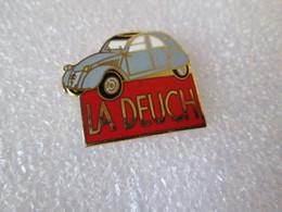 PIN'S     CITROEN    2 CV   LA  DEUCH   Email Grand Feu   FB - Citroën