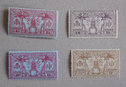 New Hebrides (France) 1925 – Lot 11 Stamps – Yv 80 To 90 – Native Idol NOUVELLES HEBRIDES 1925 – LOT 11 TIMBRES - Neufs