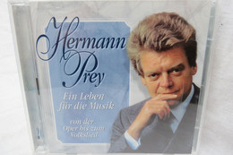 """2 CDs """"Hermann Prey"""" Ein Leben Für Die Musik, Von Der Oper Bis Zum Volkslied - Opere"""