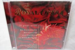 "CD ""Royal Opera Mozart"" 18 Great Arias, Moffo, Domingo, Prey U.a. - Opere"