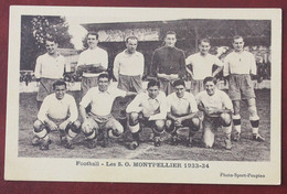 CPA  34.... Montpellier  Foot Ball , Les Sports Olympiques , Saison 1933-34 - Montpellier