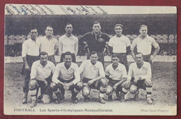 CPA  34.... Montpellier  Foot Ball , Les Sports Olympiques , Saison 1931-32 ? - Montpellier