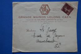 U 15 FRANCE BELLE LETTRE  1920 PARIS  POUR ANNEBAULT  +AFFRANCH. INTERESSANT - Brieven En Documenten