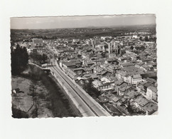 CPSM:BOURGOIN (38) VUE..ÉCRITE - Bourgoin