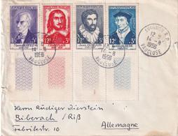 FRANCE 1956 LETTRE DE AVIGNON - 1921-1960: Periodo Moderno