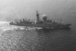 Photo Originale 9x13 De La Frégate SUFFREN (Marine Nationale) - Bateau/ship/schiff - Bateaux