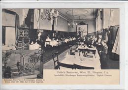 Wien  III.  , 1907   -----   HOFER's Restaurant    +    Kräußen - Bier - Patent - Kühlanlage - Other