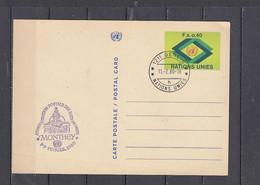 NAZIONI UNITE - Interi Postali - FDC - Covers & Documents