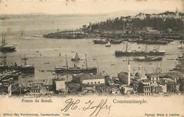 TURQUIE  CONSTANTINOPLE   Pointe Du Serail - Turkey