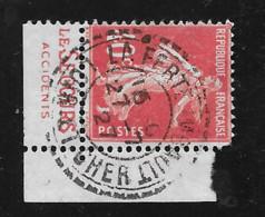 194   De Carnet   Bande Pub Publicité Publicitaire Oblitéré Cdf Le Secours - Advertising