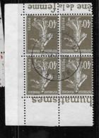 193   Bloc De 4  De Carnet   Bande Pub Publicité Publicitaire Oblitéré Gyraldose Urodonal - Pubblicitari