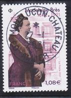 FRANCE 2021 -  Timbre Oblitéré Gommé Dentelé  N5463 MADELEINE BRES  (beau Cachet Rond) - 2010-.. Matasellados