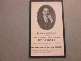 Dp Oorlog, 1893 - 1917, Brugge/Adinkerke, Degroote - Devotion Images