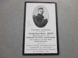 Dp Oorlog, 1885 - 1914, Brugge/Nieuwpoort, Greyf - Devotion Images