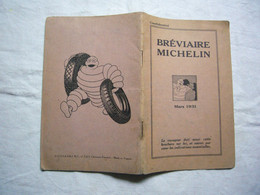Bréviaire Michelin 1931 - Pubblicitari