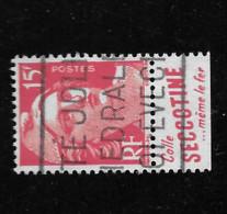 813  Gandon    De Carnet   Bande   Pub Publicité Publicitaire Oblitéré  Secotine R - Publicidad