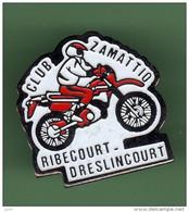 MOTO *** CLUB ZAMATTIO *** RIBECOURT-DRESLINCOURT *** 2113 - Motorfietsen