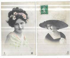 Départ 1euro Gros Lot De 1000 CPA Fantaisies - 500 Postkaarten Min.