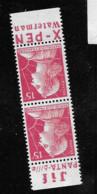 Muller 1011   Paire De Carnet   Bande     Pub Publicité Publicitaire Sans Gomme  Jif Xpen - Advertising