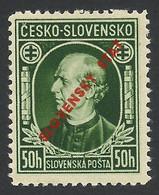 Slovakia, 50 H. 1939, Sc # 24, Mi # 24A, MNH. - Nuovi