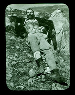 Ancienne Plaque Positive Collection L. Thelu Corse Le Bandit Fornelli Mort - Glasplaten
