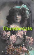 CPA JOLIE JEUNE FILLE REAL PHOTO POSTCARD BEAUTIFUL YOUNG GIRL - Portraits