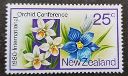 New Zealand International Orchid Conference 1980 Flower Event Flora Flowers (stamp) MNH - Ungebraucht