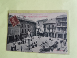 CPA  PYRENEES  ORIENTALES  66   PUIGCERDA  PLACE  CABRINETTI - Other Municipalities