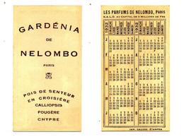 Calendrier 1932 - Parfum Gardénia De NELOMBO - Small : 1921-40