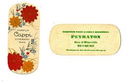 Carte Parfumée / Parfum Cappi De Chéramy Paris / PEYRATON Coiffeur à Bucquoy (62) - Vintage (until 1960)