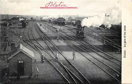 Belgique - Bernissart - Blaton - La Gare Et Les Voies - Bernissart