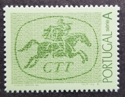 Portugal Postrider 1985 Horse Postman Postal Service Horses (stamp) MNH - Unused Stamps