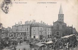 Riom        63           Place Sainte-Amable    Marché     N°892  (voir Scan) - Riom