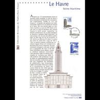 Document Officiel 2008 - Le Havre - Seine-Maritime - Documenti Della Posta