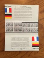 Pochette Philatélique D'émission Commune FRANCE-ALLEMAGNE XXV Anniversaire Du Traité De Coopération - 1988 - Neuf - Souvenir Blokken