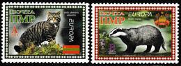 Europa Cept - 2021 - Transnistria, PMR. & Moldova - (Wildlife) Local İssue ** MNH - 2020