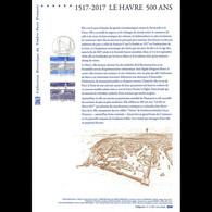 Document Officiel 2017 - Le Havre 500 Ans - Documenti Della Posta