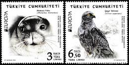 Europa Cept - 2021 - Turkey, Türkei - 2.Stamps - (Wildlife) ** MNH - 2020