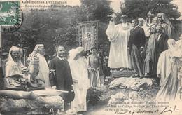 29 - Brest - Sublime Cliché Animé Des Cérémonies Druidiques - Souvenir Des Fêtes Celtiques De Brest 1908 - Brest